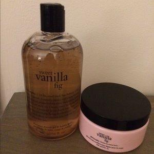 Philosophy Sweet Vanilla Fig Shower gel & cream